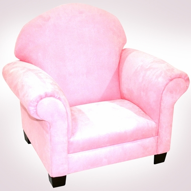 Pink Microfiber Sweet Child Chair by Magical Harmony Kids - Click to enlarge