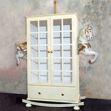 Signature Carousel Horse Armoire by Little Miss Liberty