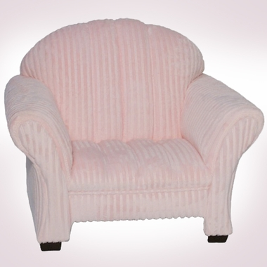 Pink Chenille Classic Kids Chair by Magical Harmony Kids - Click to enlarge