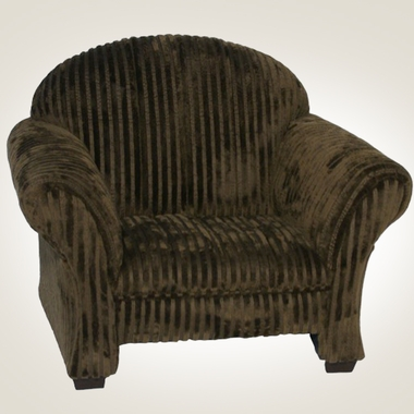 Chocolate Chenille Classic Kids Chair by Magical Harmony Kids - Click to enlarge