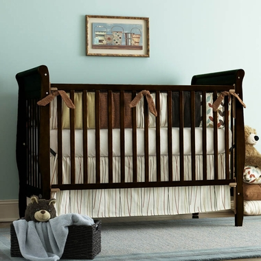 Graco Cribs Sarah 4 in 1 Convertible Crib in Espresso - Click to enlarge