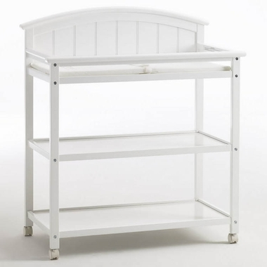 White Charleston Changing Table By Graco Cribs