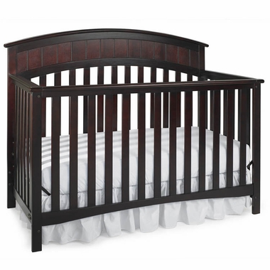 Graco Cribs Charleston 4 in 1 Convertible Crib in Cherry - Click to enlarge