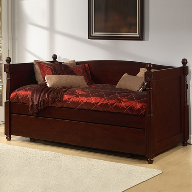 Walnut French Daybed by Alligator - Click to enlarge