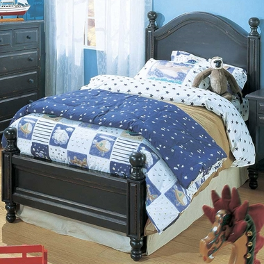 Denim Blue Monterey Twin Bed by Alligator - Click to enlarge