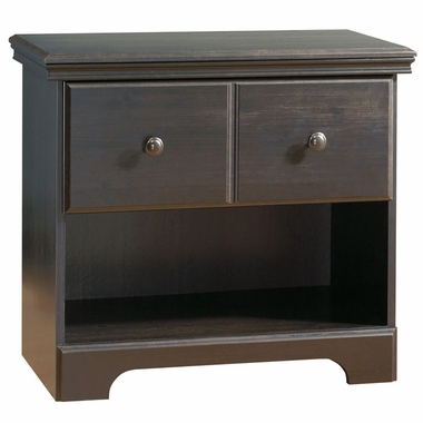 Ebony Mountain Lodge Night Table by SouthShore