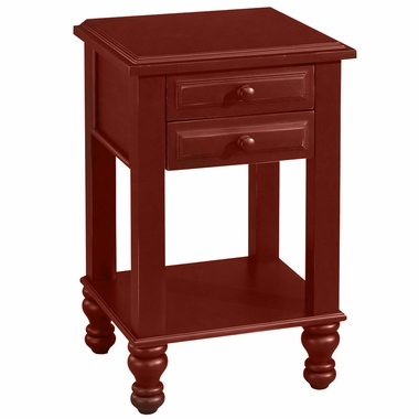 Red Spice Monterey Nightstand by Alligator - Click to enlarge