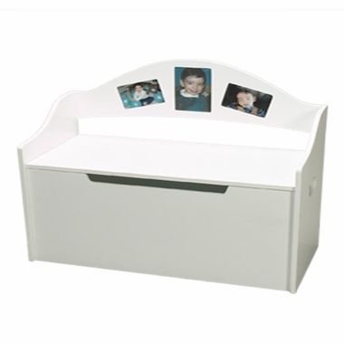 White Picture Toy Chest by Kids Korner - Click to enlarge