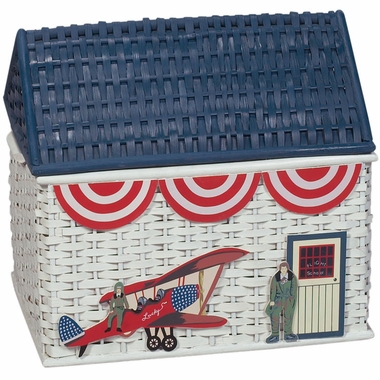 Airplane Bamboo Trunk by Kids Korner - Click to enlarge