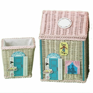 Medium Size Dance Hamper with Waste Basket by Kids Korner - Click to enlarge