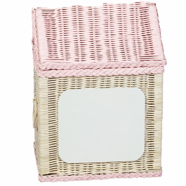 Pink Large Hamper Blank Plaque by Kids Korner - Click to enlarge