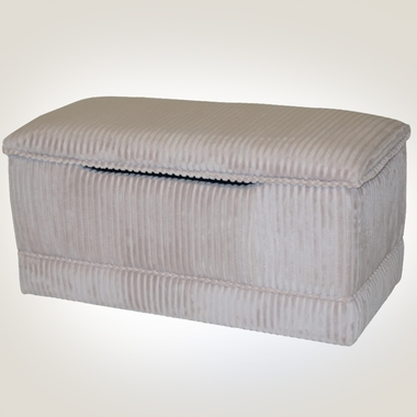Tan Chenille Deluxe Toy Box by Magical Harmony Kids - Click to enlarge
