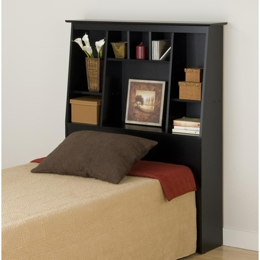 Black Sonoma Tall Twin Headboard by PrePac