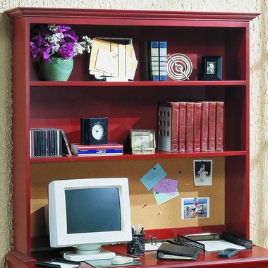 Red Spice Monterey Hutch For Desk by Alligator - Click to enlarge