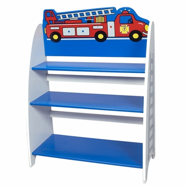 Fire Engine Bookcase by Kids Korner
