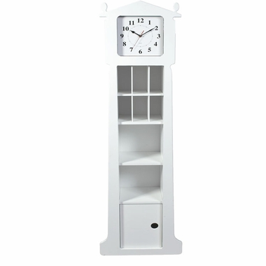 Grandfather Clock with Organizer by Kids Korner