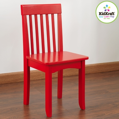 Red Avalon Chair by KidKraft - Click to enlarge