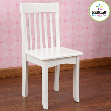 White Avalon Chair by KidKraft - Click to enlarge