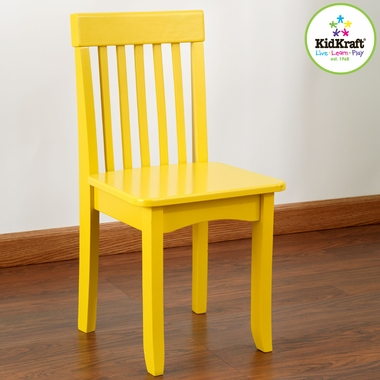 KidKraft Avalon Chair in Yellow - Click to enlarge