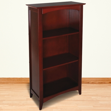 Cherry Avalon Tall Bookshelf by KidKraft - Click to enlarge