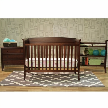 Espresso Tyler 5 Piece Nursery Set By Davinci Click To Enlarge