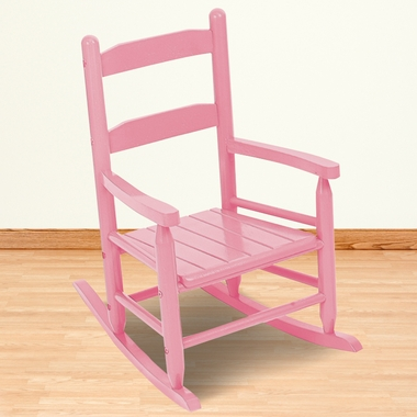 Pink Child's 2 Slat Rocker by KidKraft - Click to enlarge