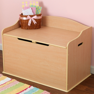 Natural Austin Toy Box by KidKraft - Click to enlarge