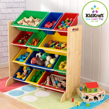 Sort It and Store It Bin Unit by KidKraft