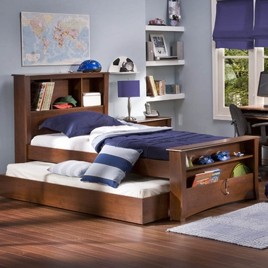 Classic Cherry Jumper Twin Mates Bed by SouthShore - Click to enlarge