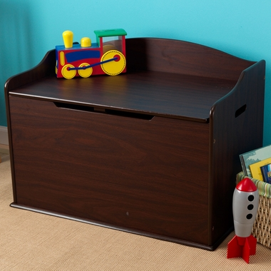 Espresso Austin Toy Box by KidKraft - Click to enlarge