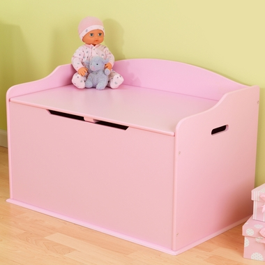 Pink Austin Toy Box by KidKraft - Click to enlarge