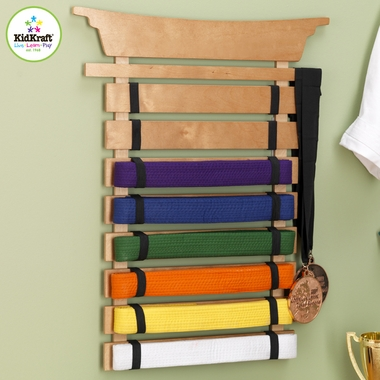 Martial Arts Belt Holder by KidKraft