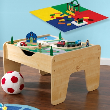 Lego 2 in 1 Compatible Activity Table by KidKraft