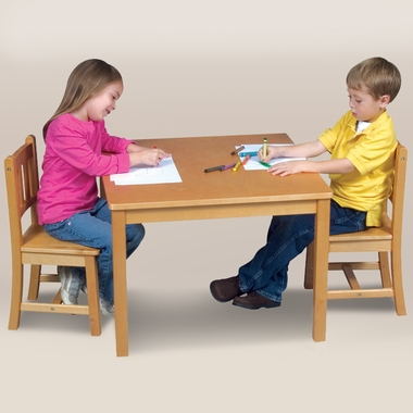 Mission Table & Chairs Set by GuideCraft