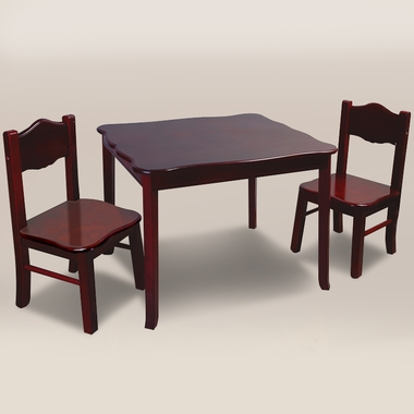 Espresso Classic Table & Chairs Set by GuideCraft
