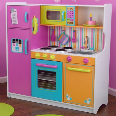 Deluxe Big & Bright Play Kitchen by KidKraft