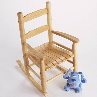 Natural Child's Rocking Chair by Lipper - Click to enlarge