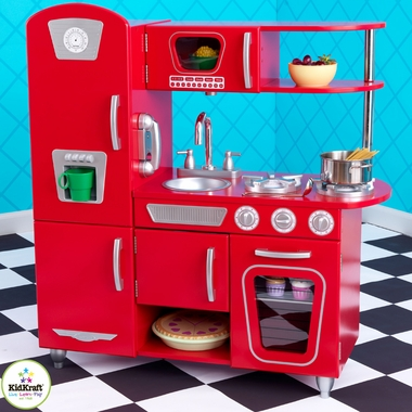 Red Vintage Kitchen by KidKraft - Click to enlarge