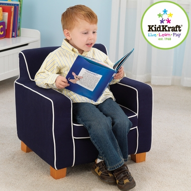 Navy Laguna Chair by KidKraft - Click to enlarge
