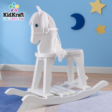 White Derby Rocking Horse by KidKraft - Click to enlarge