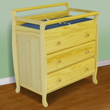 Liberty 3 Drawer Changing Table Natural 601 N By Dream On Me   Changing  Tables At SimplyKidsFurniture