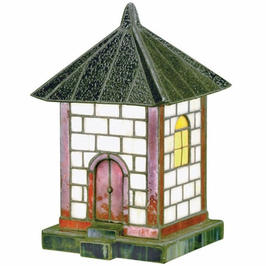 Pagoda Collection Tiffany Accent Lite in Tiffany Multi Accent Lite by Lite Source