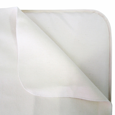 Natural Flannel Flat Organic Crib Pad by Naturepedic