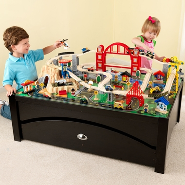 Metropolis Train Table Set by KidKraft
