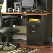 Ebony & Spicewood Gascony Collection Desk by SouthShore