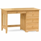 Natural Maple Windsor Desk with Drawer by Atlantic Furniture
