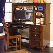 Lea Industries Deer Run 3 Drawer Computer Desk