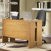 SouthShore Element Collection Desk in Florence Maple