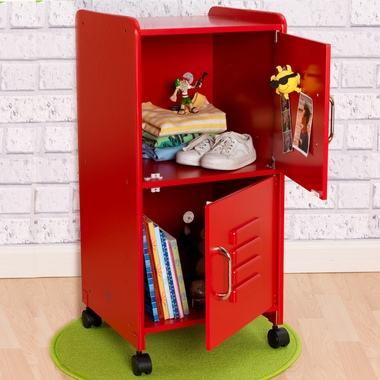 Red Medium Locker by KidKraft - Click to enlarge
