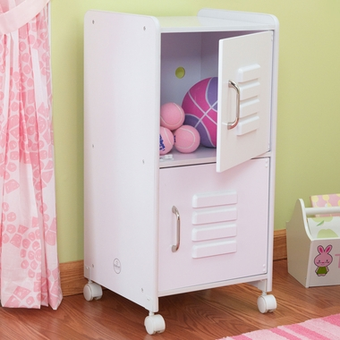 White Medium Locker by KidKraft - Click to enlarge
